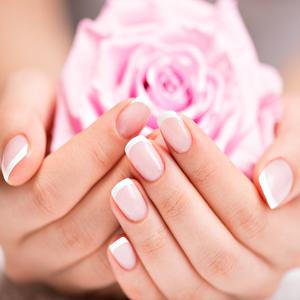 Powder Pink & White